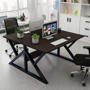 Barhe Double Computer Desks Two Person Office Desk