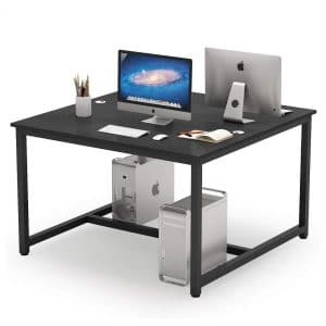 Tribesigns Double Computer Desks Two Person Office Desk