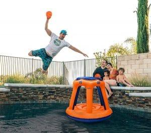 Floating Pool Basketball Hoops