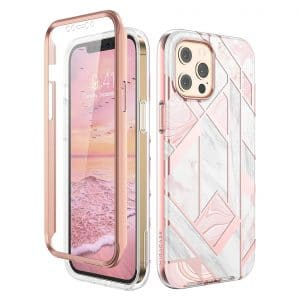 Miracase Compatible with iPhone 12 Pro Max Case with Built-in Screen Protector