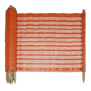 Mutual Industries Woven PP Fabric Barricade Safety Fence