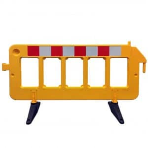 Electriduct 6.4Ft Portable Safety Barricade
