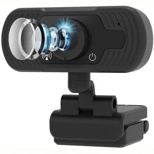 Computer USB Cam,FUVISION Web Cameras for Computers 1080P,Web Cam for Zoom Video Conference, YouTube,Recording, Skype and Streaming