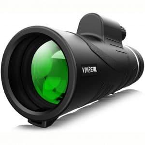 Monocular Telescope - 12X50 High Power 【HD Monocular for Bird Watching】 with Smartphone Holder & Tripod IPX7 Waterproof Monocular Made