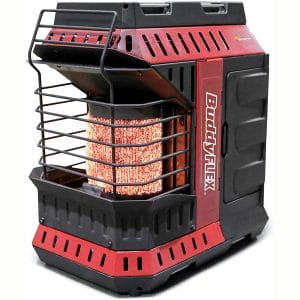 Mr. Heater MH11BFLEX Portable Propane Heater, Red