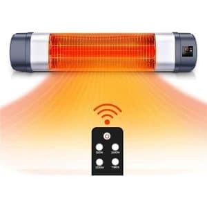 TRUSTECH 1500W Adjustable Patio Heater