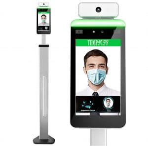 Vivsky Face Recognition Temperature Measurement System