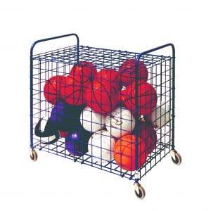 Champion Sports Portable Ball Storage Cart