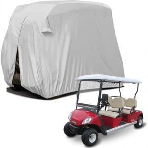 "Sunnyglade 4 Passenger Waterproof Golf Cart Cover Roof 80"" L, Fits EZ GO, Club Car Yamaha, Dustproof Durable"