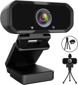 Webcamara 1080p HD Computer Camera Microphone Laptop USB PC Webcamara, HD Full Gaming Computer Camera, Recording Pro Video Web Camera
