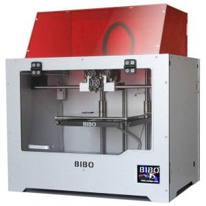 BIBO 3D Printer Sturdy Frame Dual Extruder with WiFi Touch Screen