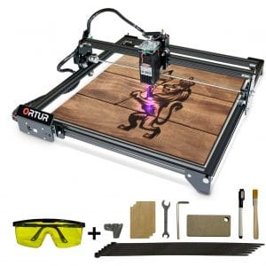 ORTUR Cutting Machine Laser Engraver Master 2 with 400 mm x430 mm Large Engraving Area