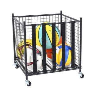 Snail Sports Ball Storage Rolling Cart
