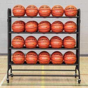 FORZA Portable Sports Ball Trolley