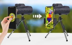 image feature Monocular telescope for phone