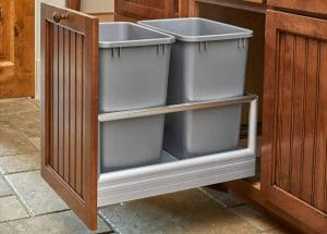 image feature Pull Out Trash Cans