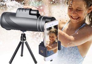 image feature monocular telescope for phones
