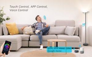 image feature smart wifi floor lamps