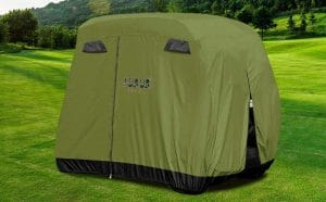 image feature waterproof golf cart covers