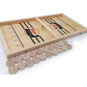 Wooden Large Sling Hockey Board 23 Inches, Sling Puck Games