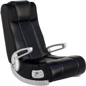 """X Rocker II Wireless SE 2.1 Video Gaming Rocking Foldable Floor Chair with 2 Speakers and 4"""" Subwoofer with Port - Highback, Headrest, Pivoting Armrests"""