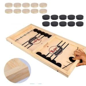 Inscape Fast Sling Puck Games 22.7 x 12.5 Inches