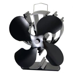 VODA 4 Blade Heat Powered Wood Stove Fans