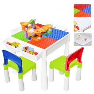 67i Kids 3-in-1 Construction Play Table