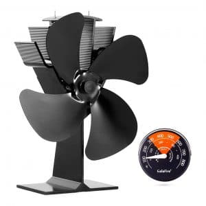 GALAFIRE Heat Powered Wood Stove Fans