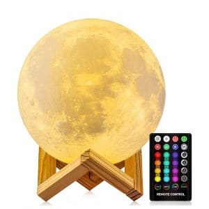 GDPETS Moon Lamp Night Light with Stand (4.8 Inches)