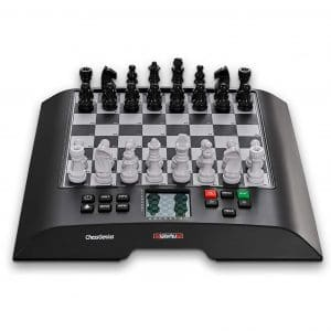 Millennium Model M810 Large Electronic Chess Boards, Black