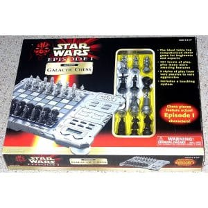 Tiger Star Wars Electronic Galactic Chess Boards