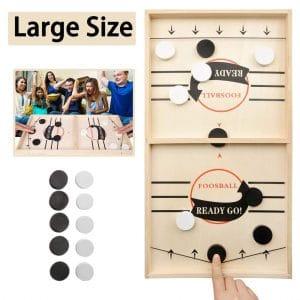 JANDANT Large Size Fast Sling Puck Games
