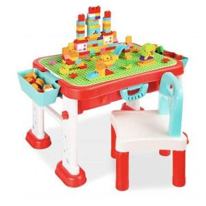 Best Choice Products Kids 8-in-1 Construction Play Table