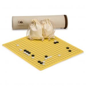 Yellow Mountain Imports Roll-up Portable Go Board Game Sets