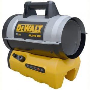 DeWALT DXH70CFAV 68,000 BTU Cordless Forced Air Propane Heater