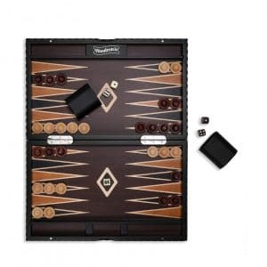 Woodronic 15 in Wooden Board Backgammon Sets for Adult