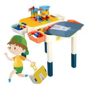 CIRO Kids 6-in-1 Multi Activity Building Block Table