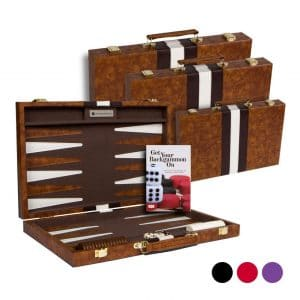 Get The Games Out Classic Board Top Backgammon Sets Game Case