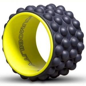 The Ultimate Back Roller - Acumobility, myofascial Release, Trigger Point, Yoga Wheel, Foam Roller, Back Pain, Yoga Wheel for Back Pain, Back Massager