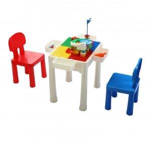 JAXPETY Kids Multi Activity Play Table Set