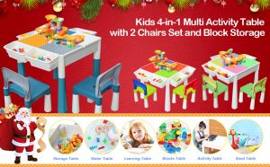 Kids Contruction Play Table