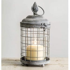 CTW Home Collection Metal Lantern Candle Holder