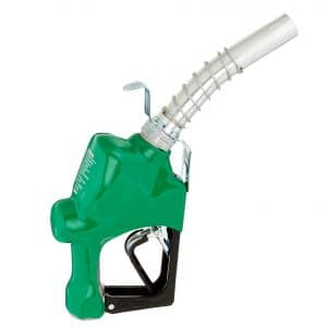 Husky 045710N-16 Diesel Nozzle with Hook for Hanging and Full Grip Guard