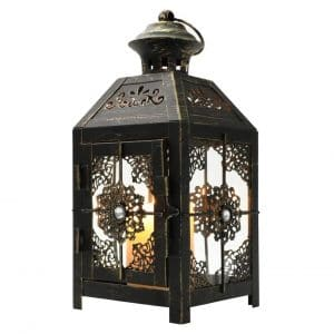 JHY DESIGN Decorative Metal Candle Lantern