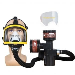 Grneric Unsvorns Electric Constant Air Fed Full Face Respirator System