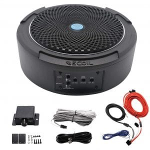 Recoil 400W 8 Inches Under Seat Car Subwoofer