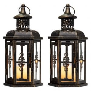 JHY DESIGN Vintage Style Decorative Lanterns