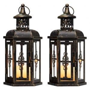 JHY DESIGN Vintage Style Decorative Lanterns