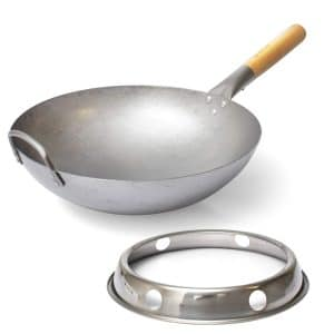 Foodylabs Wok Pan with Ring
